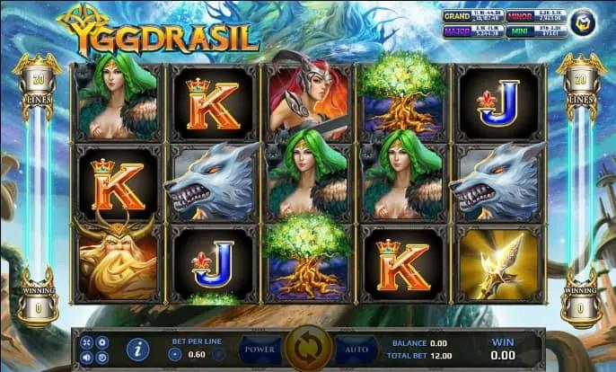 รีวิวเกมสล็อต Yggdrasil สล็อตโจ๊กเกอร์ - galaxy-slots.net