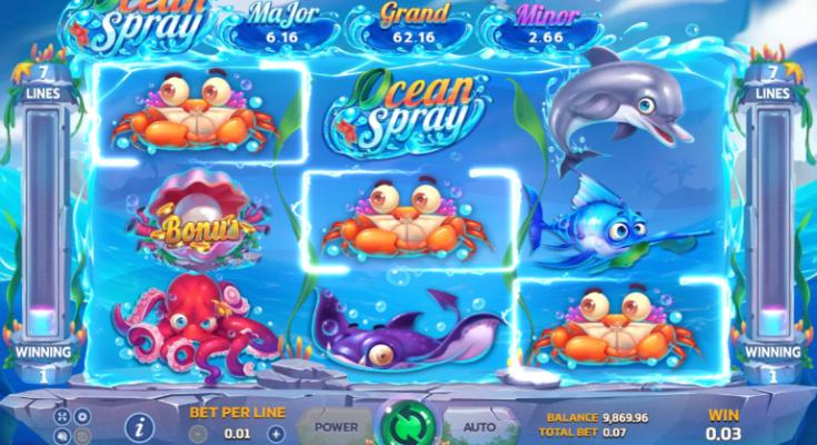 หน้าเล่น Ocean Spray